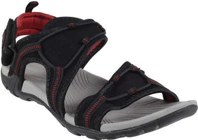 F Sports Men Black Sandals