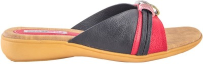 Pink Fever Women Black, Brown Flats