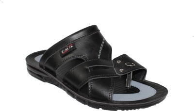 Calix Men Black Sandals