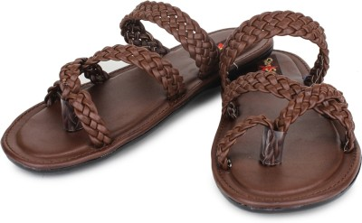 Star Style Men Brown Sandals