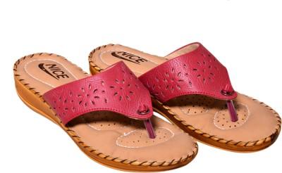 Nice Women Pink Flats