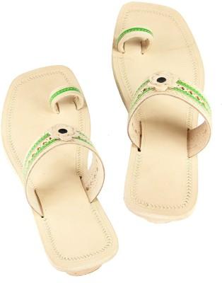 Ekolhapuri Women Green Heels