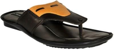 SSF Men Orange Sandals
