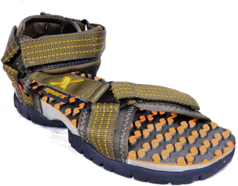 Sparx Men Olive Yellow Sandals...