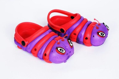 KDM Boys Red Clogs