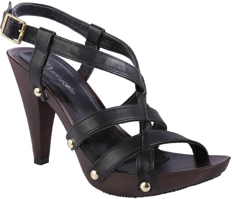 Annabelle by Pantaloons Women Black Heels