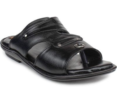VENUSTAS Men Grey, Black Sandals