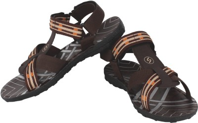Super Matteress Brown-855 Men Brown Sandals