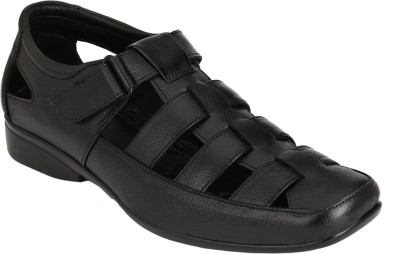 Azzaro Black Men Black Sandals