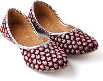 Kitty Women Burgundy, Red, Maroon Flats