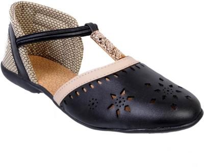 Fescon Women Black Flats