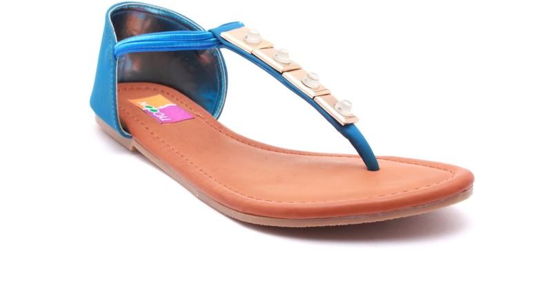 Tycoon Women Blue Flats