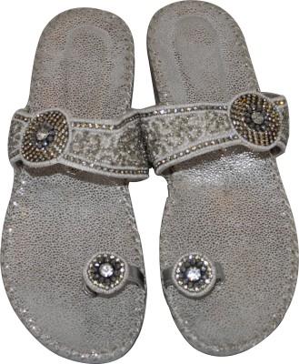 Mellofic Women Silver Flats