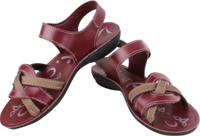 Bersache Women Red Flats