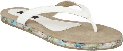 Chicopee Women White Flats