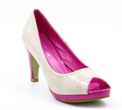 Belle Gambe Women Pink Heels