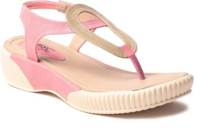 MSC Women Pink Flats