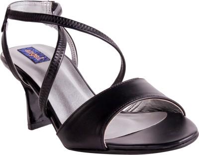 Angel Women Black Heels