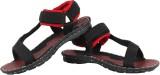Vivaan Footwear Men Red Sandals