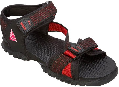 Rod Takes Men Red, Black Sandals