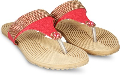 Anand Archies Girls Red Flats