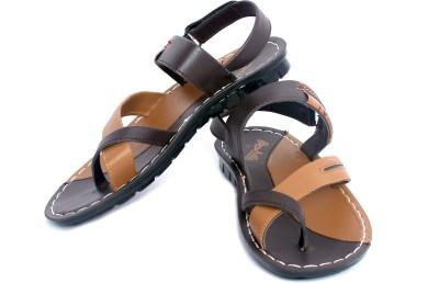 Pu Hills Boys Brown Sandals