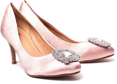 Klaur Melbourne 852-20-Apricot Women Beige Heels