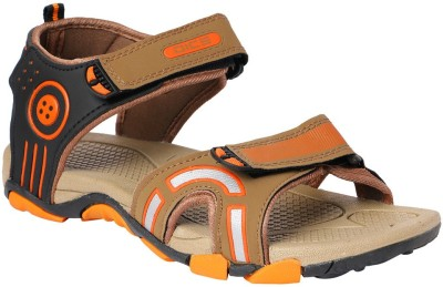 Dice Men Orange Sandals