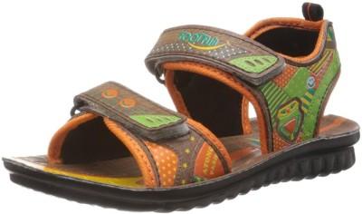 Footfun By Liberty Baby Boys Brown Sandals