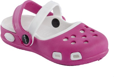 Spice Olive Baby Girls Pink, White Sandals