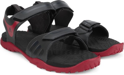 Orbita De trato fácil Pino  Buy Adidas ESCAPE 2.0 Men Black, Red Sandals on Flipkart | PaisaWapas.com