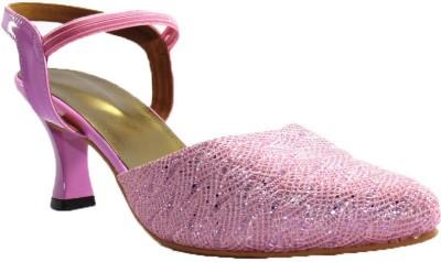 PAWAR Women Pink Heels