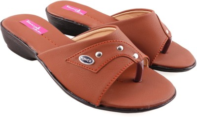 Vinayak Collection Women Brown Wedges