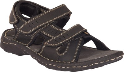 Invixo Elyte Sandal Men Black Sandals