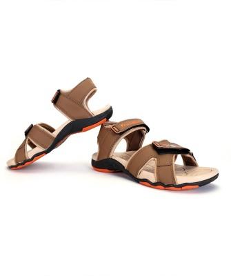 Elligator Men Brown Sandals