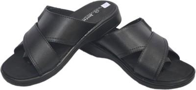 Jenfars Mcp Men Black Sandals