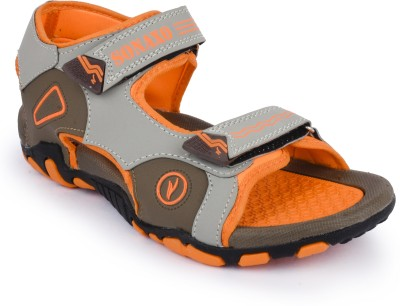 Sonaxo Men Orange Sandals