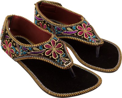 Vinayak Collection Women Black Flats