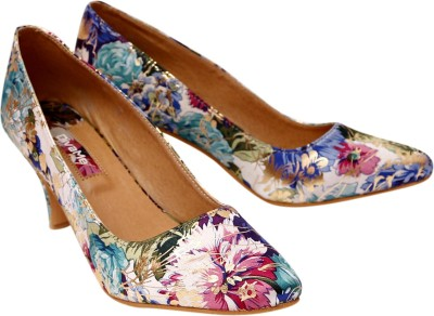 DivaMe Women Multicolor Heels
