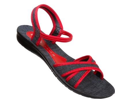 Vkc Women Red Flats
