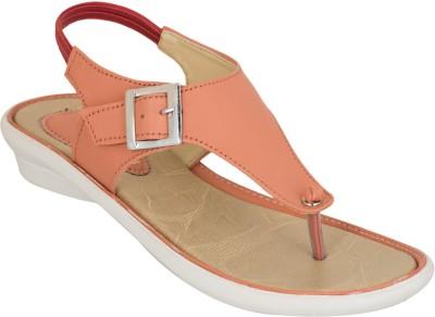 NE Shoes Women Orange Flats