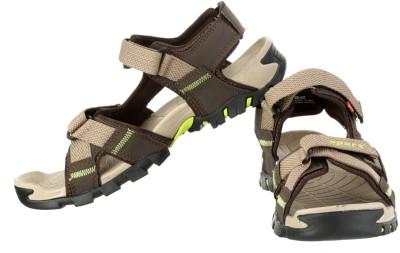 Sparx Men Camel Sandals at flipkart