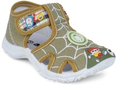 Action B0751-048 Baby Girls, Baby Boys Khaki Sandals