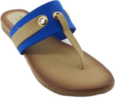 AM by Penny Women Blue Flats