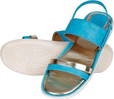 Lovely Chick Women Blue Flats