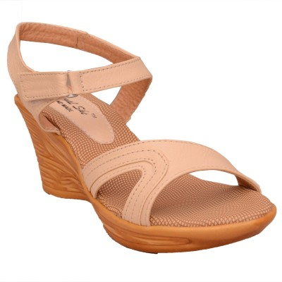 Royalshe Women Brown Wedges