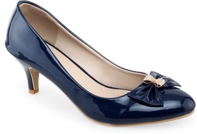 Shuz Touch Women Navy Heels