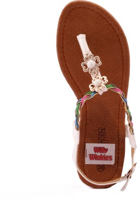 Willywinkies Girls White Sandals