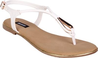 karizma shoes Women White Flats