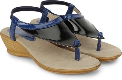 CSBS Sale Women Blue, Black Heels